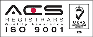 ACS ISO 9001 accredited
